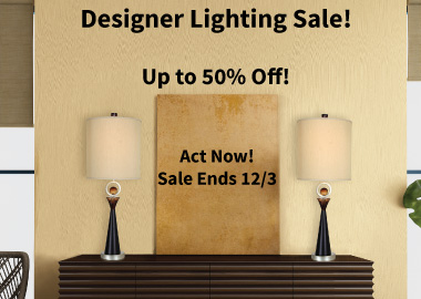 Cyber Monday Designer Lighting Sale!