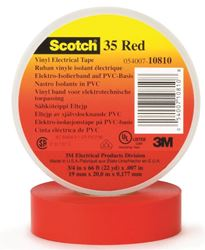 3M 1700Cred Tape Elec 3/4X66 Red