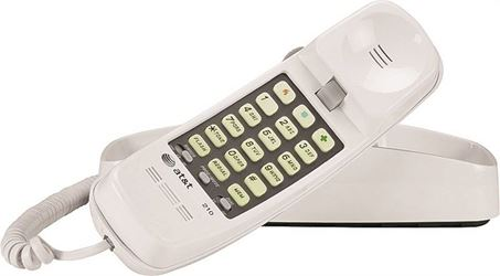 Vtech Communications At210 Trimline Memory Telephon