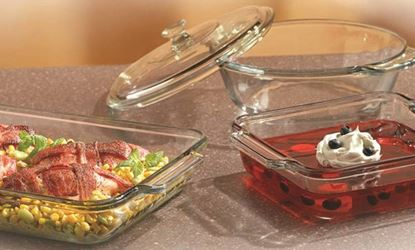 Anchor Hocking 82748OBL11 Bake Dish Set, 4 Pieces