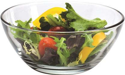 Anchor Hocking 86642 Round Bowl, 26 Oz Capacity, 5-3/4 In Top, 3 In Bottom Dia, Glass - 12 Pack