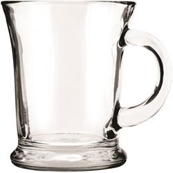 Anchor Hocking 83037a Mug 14oz Crystal Mocha - 6 Pack