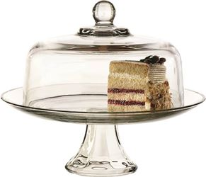 Anchor Hocking 87892l13 Cake Dome Set Presnce - 2 Pack