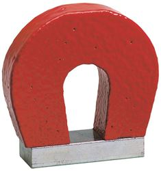 General Tools 370-1 Horseshoe Power Magnet, 1 oz, 1 in H, Aluminum/Nickel/Cobalt