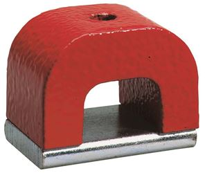 General Tools 370-2 Horseshoe Power Magnet, 2 oz, 3/4 in H, Aluminum/Nickel/Cobalt
