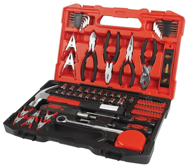 OLYMPIA TOOLS INTERNATIONAL 80-789 TOOL SET 90PIECE W/CASE