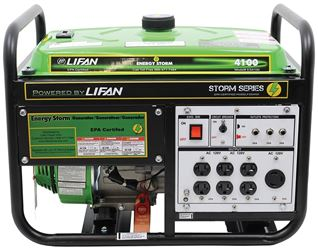 LIFAN POWER USA ES4100 GENERATOR RES 4000W 7HP