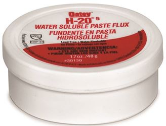 Oatey 30130 Water Soluble Flux, 1.7 Oz, Paste, Off-White To Light Yellow