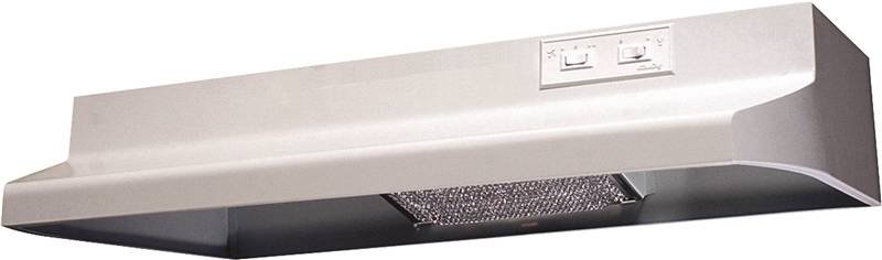 Air King Advantage AX AX1303 Under Cabinet Range Hood, 160 cfm, 3-1/4 X 10 in, White