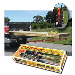 Mul-T-Rack 12500 Lumber Carrier, For Use With 2 in Hitch Trailer, 800 lb Load Capacity, Steel, Baked Powder Painted