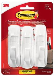 3M 17003-Vp-3Pk Hook Large Comand