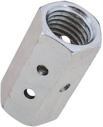Stanley 347203 Coupling Nut, No 1-8, Steel, Zinc Plated