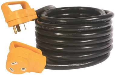 Power Grip Rv 55191 STW Extension Cord With Handles 10 AWG, 25 ft L, 30 A, 125 VAC