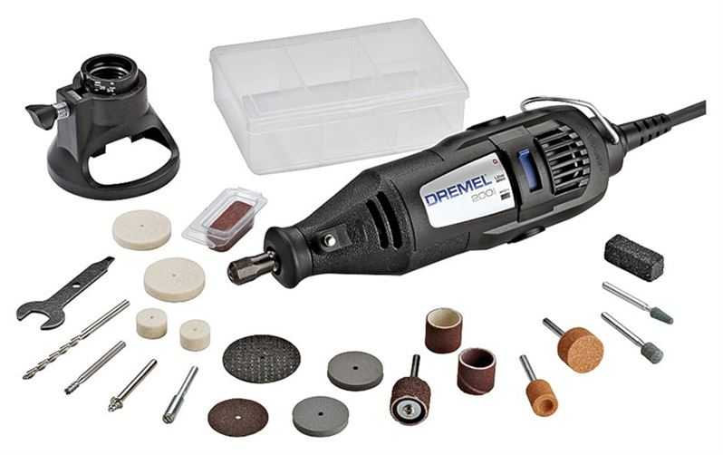 Dremel 200-1/21 Multipro 2 Speed Rotary Tool Kit With 21 Accessories