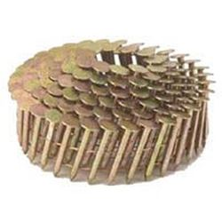 Stanley CR19GAL Coil Collated Roofing Nail, 0.12 in x 3/4 in, 15 deg, Steel
