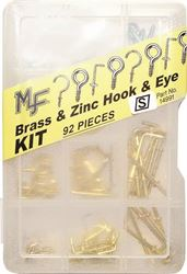Midwest Fastener Hook/Eye Assortment