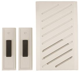 Carlon RC3252 Plug-In Cordless Musical Door Chime, 0 - 150 ft Operating, 13 Tone
