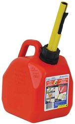 Scepter 00001 Self Venting Gas Can, 1 gal, 8-4/5 in L x 6-1/2 in W x 10 in H, Polyethylene
