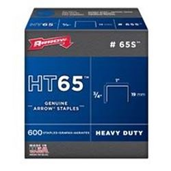 Arrow Fastener 65S  Staples, 3/4 Inch
