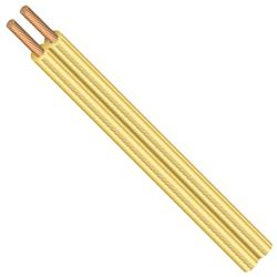 Coleman 600006619 Spt-1 Lamp Cord, 18/2, 250 Ft, 300 V, Bare Copper