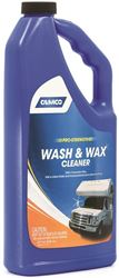 Camco 40493 Pro-Strength Wash And Wax Cleaner, 32 oz, Bottle, Blue, Liquid-á