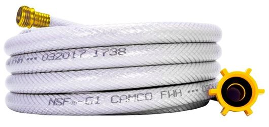 Camco 22735 Heavy Duty Reinforced Water Hose, 1/2 in x 25 ft