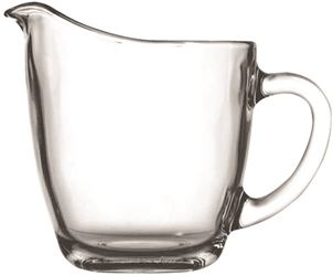 Anchor Hocking 64191b Pitcher 11oz Pres Cream - 4 Pack