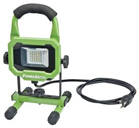 PowerSmith PWL1115BS Work Light, 120 V, 15 W, 0.15 A, LED