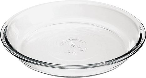 Anchor 82638l11 Pie Plate, Glass, Clear - 6 Pack