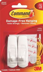 3M 17001Cs Cmd Medium Hooks Pk12