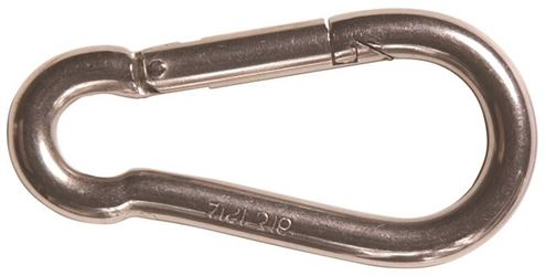 Ben-Mor 73088 Carbine Snap Hook, 3.15 In W, Stainless Steel