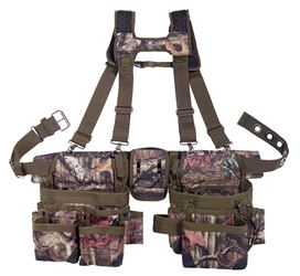 Bucket Boss 85035 Heavy Duty Mullet Buster Suspension Rig, Polyester Fabric, Camo