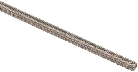 Stanley 218230 Threaded Rod, 3/8-16 x 36 in, 18-8 Stainless Steel