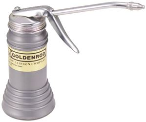 Golden Rod 600S Pistol Pump Oiler With Oil Cup Cap Lifter Tips, 5 in Straight, Plastic