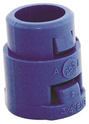 Carlon A253E-Car 1-Piece Snap-In Terminal Adapter, 3/4 In Emt, Male Threaded, Pvc