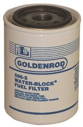 Goldenrod 596-5 Replacement Spin-On Filter Canister, White