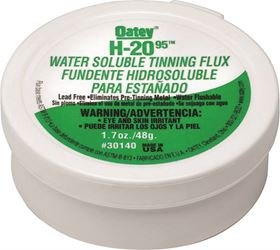 Oatey H-2095 Water Soluble Tinning Flux, 1.7 Oz, Paste, Greenish-Gray