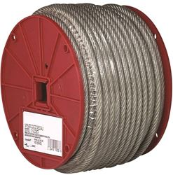 Campbell 700-0397 Flexible Aircraft Cable, 3/32 in Dia X 250 ft L, 184 lb