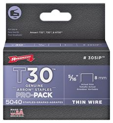 Arrow Fastener 305IP  Staples, 5/16 Inch