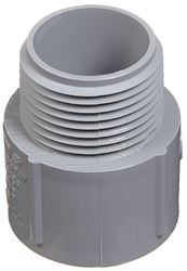 Carlon E943JRR Terminal Adapter, 2 in Rigid/Non-Metallic, SCH 40/80, MNPT X Socket