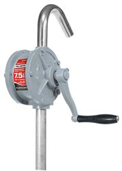 Fill-Rite SD62 Rotary Hand Transfer Pump, 7.5 gpm, 1 in NPT x 2 in NPT, Aluminum
