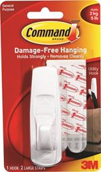 3M 17003Cs Lrg Adhs Hook Clpstrp - 12 Pack