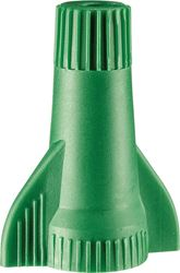 GreenGard 10-095 Grounding Wire Connector, 14 - 10 SOL, Thermoplastic, Green