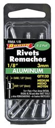 Arrow RMA1/8 Medium Blind Rivet, 1/8 in Dia, Aluminum