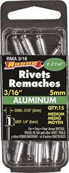 Arrow RMA3/16 Medium Blind Rivet, 3/16 in Dia, Aluminum