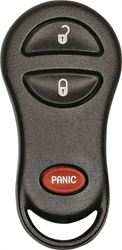 Hy-Ko 19CHRY900F Keyless Entry Key Fob, 3 Button, For Use With O-CHRY900F Chrysler