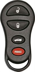 Hy-Ko 19CHRY901F Keyless Entry Key Fob, 4 Button, For Use With O-CHRY901 Chrysler