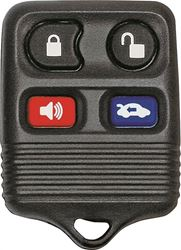 Hy-Ko 19FORD901F Keyless Entry Key Fob, 4 Button, For Use With O-FORD901F Ford