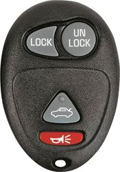 Hy-Ko 19GM900F Keyless Entry Key Fob, 4 Button, For Use With O-GM900F General Motor