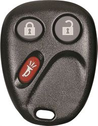 Hy-Ko 19GM904F Keyless Entry Key Fob, 3 Button, For Use With O-GM904F General Motor
